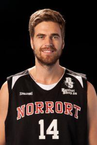 Tim Ljunggren Född: 1992 Forward, 202 cm, 93 kg Moderklubb: Borås Basket Foto: Idrottsfoto
