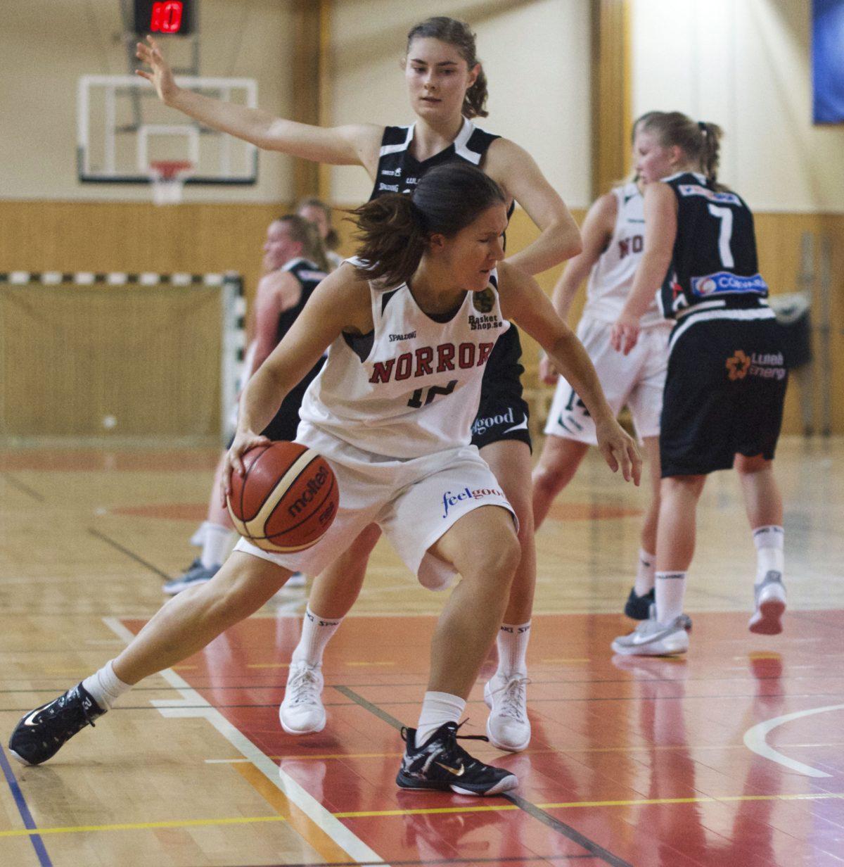 Dam: Seger med 67-59 mot Luleå i premiären