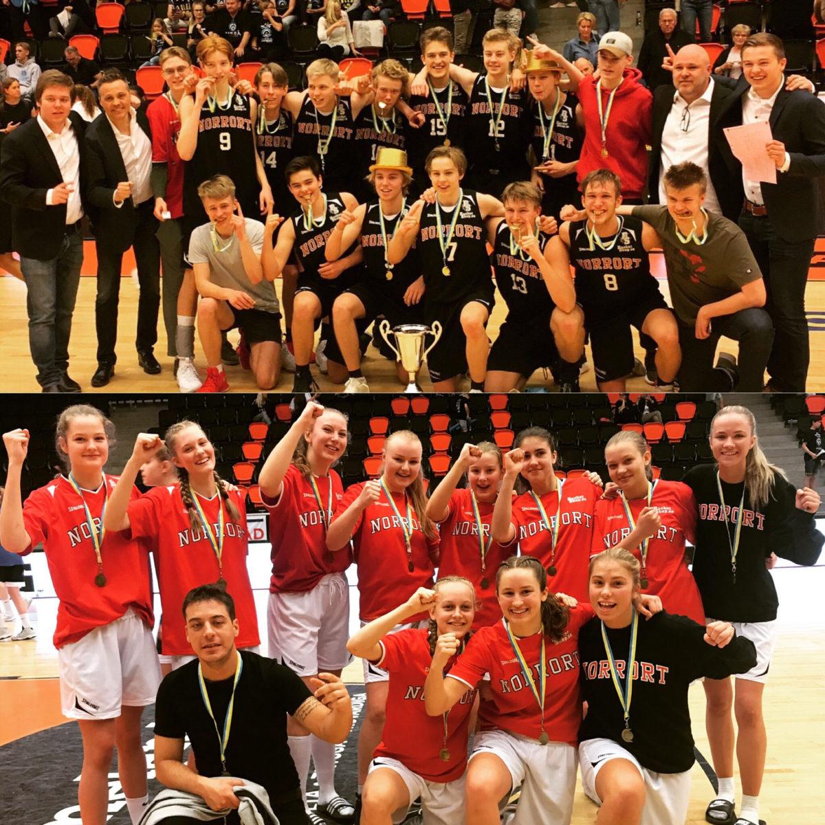 Omgång 1 för Norrort Basket i Ungdoms-SM